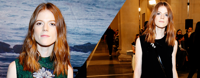 Erdem & Christopher Kane shows during London Fashion Week