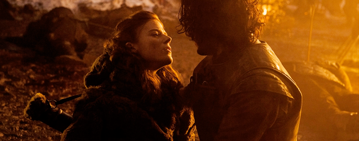 'Thrones' alum Rose Leslie still 'emotional' about dying in Jon Snow's arms
