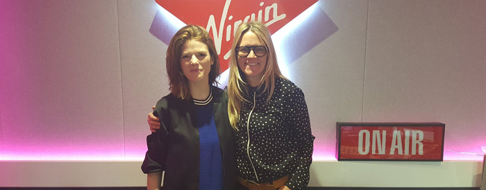 Rose on Virgin Radio UK