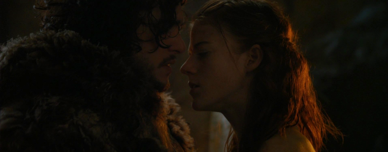 You know nothing… about Rose Leslie's Game of Thrones cave scene with Kit Harington